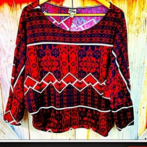 💟COMO VINTAGE M by 3/4 SLEEVE SWEATER💟
